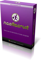 The NeoRecruit component is now compatible with Joomla 2.5 !